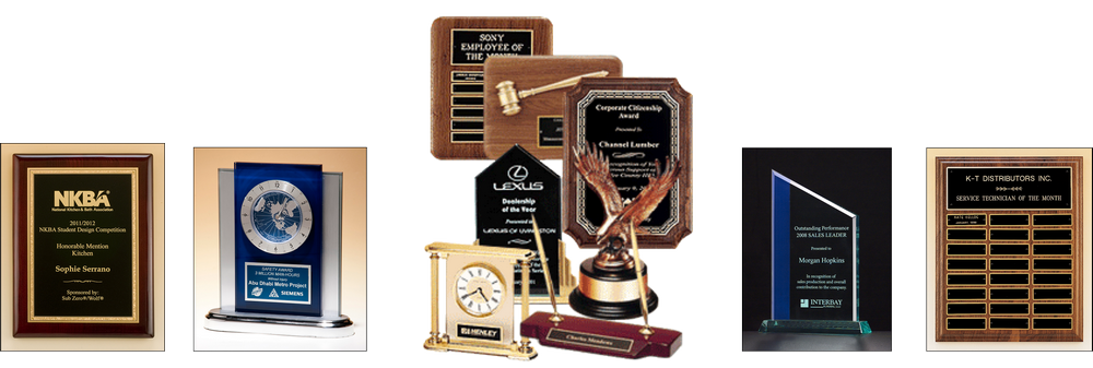 Custom Engraved Awards